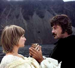 Gemma Jones and Oliver Reed