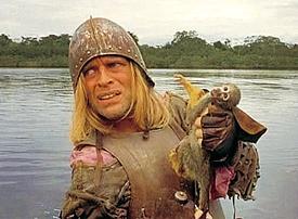 Klaus Kinski in Aguirre: Wrath of God
