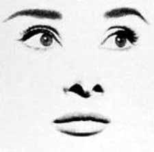 Hepburn by Avedon