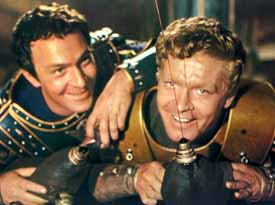 Christopher Plummer and Stephen Boyd