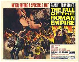 Poster for The Fall of the Roman Empire
