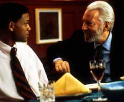 Will Smith and Donald Sutherland