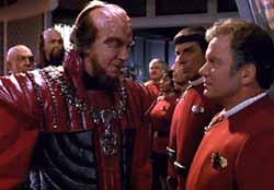 David Warner, William Shatner, and Leonard Nimoy