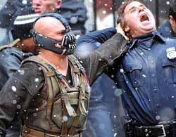 Bane and policeman