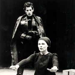 Ian McKellen and Judi Dench in A Performance of Macbeth
