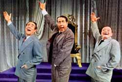 Joseph Buloff, Jules Munshin, and Peter Lorre