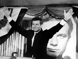Cliff Robertson in The Best Man, written by Vidal