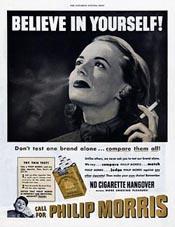 A typical Bernays ad
