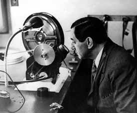 Ernst Lubitsch at the Moviola