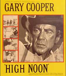 A High Noon window card