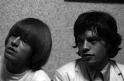 Brian Jones and Jagger