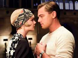 Daisy and Gatsby in the Baz Luhrmann version