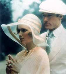 Mia Farrow and Robert Redford in the 1974 version