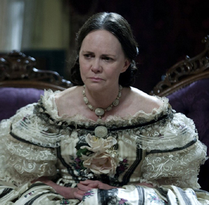 Sally Field as Mary Todd Lincoln