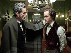 Lincoln with Robert (Joseph Levitt)