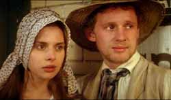 Tess with Angel Clare (Peter Firth)