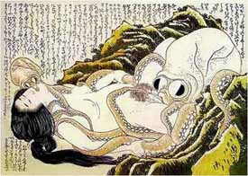 Hokusai's 'The Dream of the Fisherman's Wife'