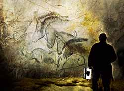 A scene from Herzog's Cave of Forgotten Dreams