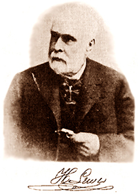 Henry Lewis late in life