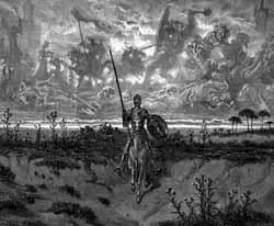Don Quixote, by Gustave Dore
