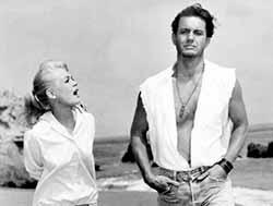 Sandra Dee and Cliff Robertson