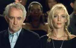 Jonathan Pryce and Uma Thurman