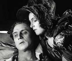 Ivan Mosjoukine and Nathalie Lissenko in Kean