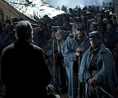 Lincoln and the soldiers
