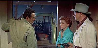 The Rivers Edge: Anthony Quinn, Debra Paget, and Ray Milland