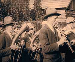 Shot in the Polish community of Kolbuszowa. Original image from the 1920-1930 home movies from YIVO collection used by Péter Forgács in his installation at the Museum of the History of Polish Jews. Photo courtesy of YIVO Institute for Jewish Research, New York