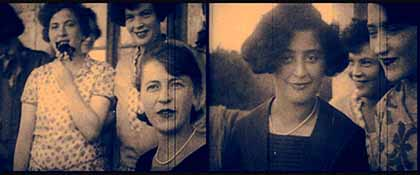 Original image from the 1920-1930 home movies from YIVO collection used by Péter Forgács in his installation at the Museum of the History of Polish Jews. Photo courtesy of YIVO Institute for Jewish Research, New York