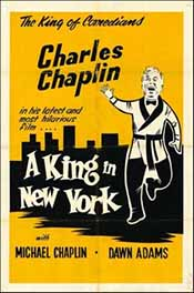 Poster forr A King in New York