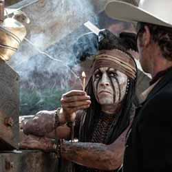 Johnny Depp as Tonto