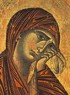 A Madonna by Cimabue