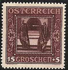 Austrian stamp, issued in 1927
