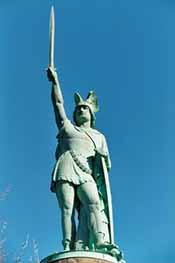 Statue of Siegfried in Detmold, Germany