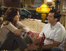 Catherine Keener and Steve Carrel in The 40-Year-Old Virgin