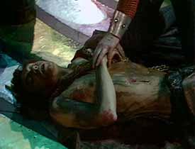 Edward's death scene