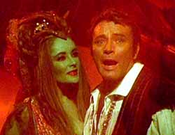 Taylor and Burton in Dr. Faustus